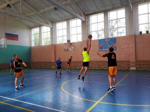 Областные соревнования по баскетболу