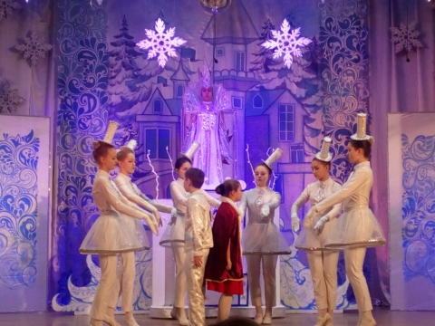 «Снежная Королева» в Детской школе искусств